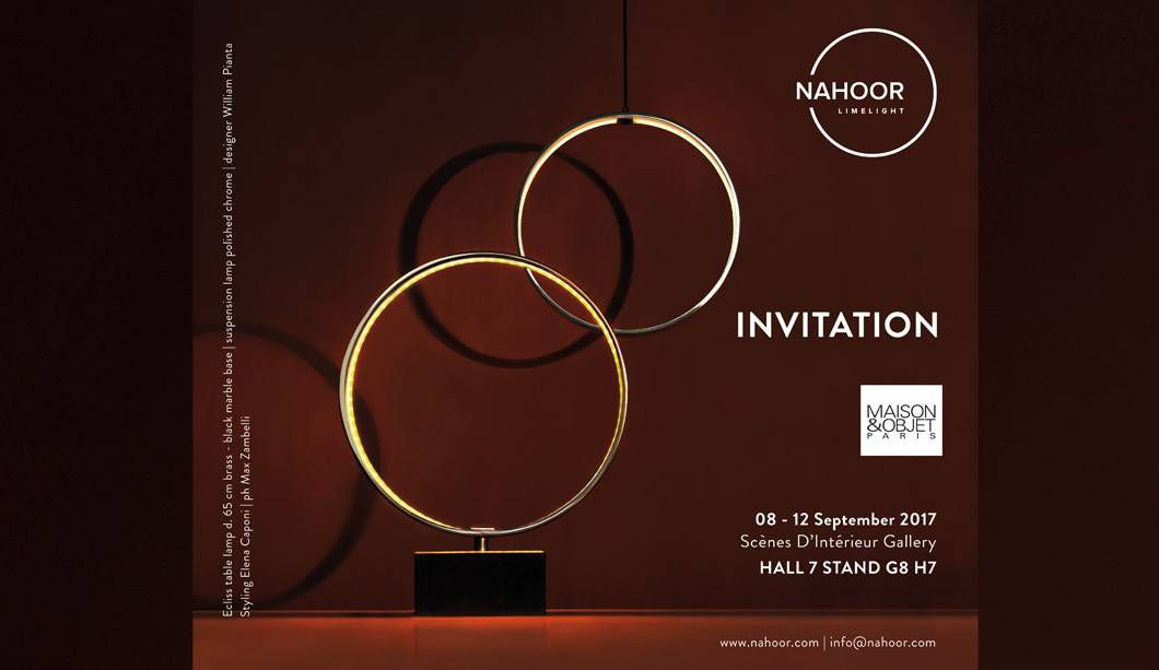 Nahoor at Maison&Objet in Paris