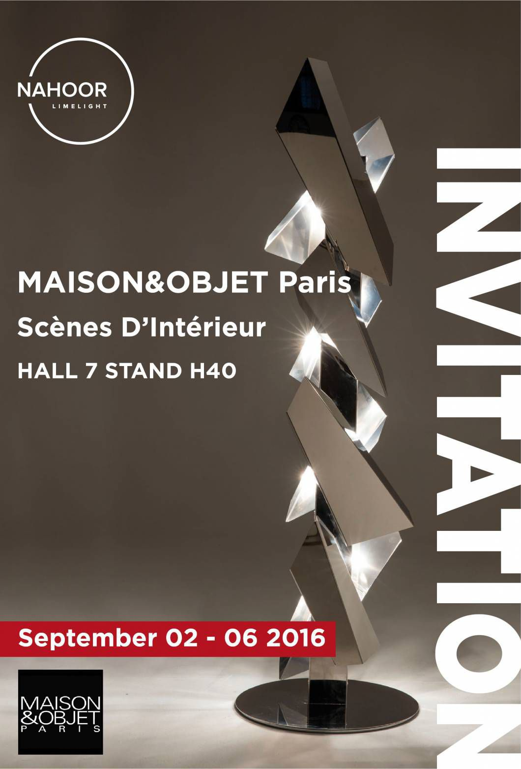 Nahoor at Maison&Objet Paris