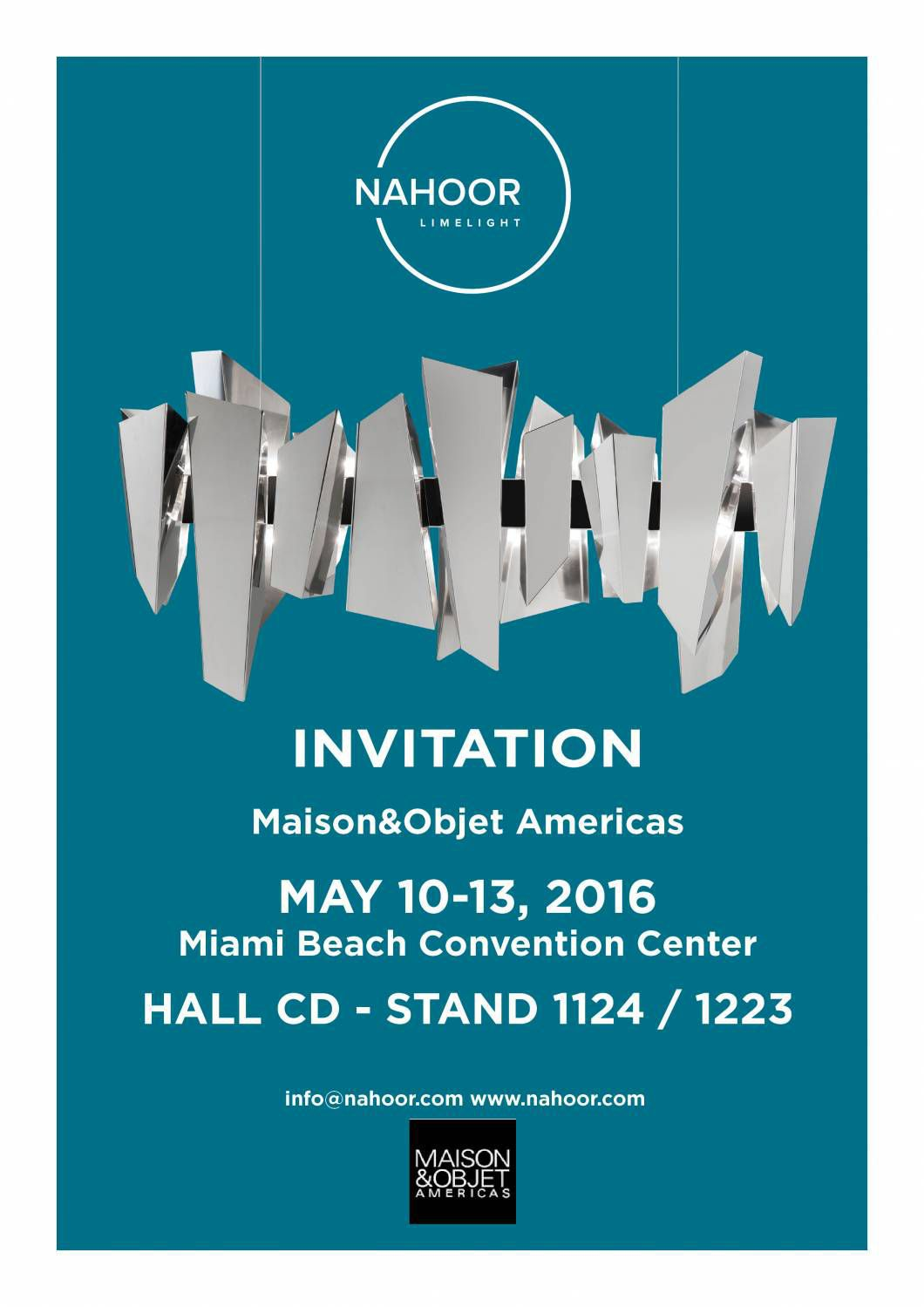 Nahoor at Maison&Objet Americas in Miami